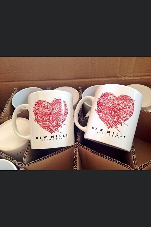 Visit New Mills Mug