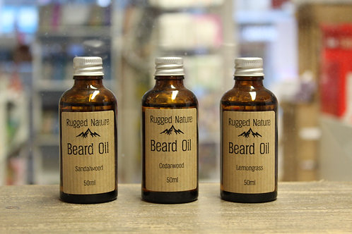 Beard Oil - 3 Scents