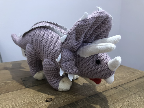 Triceratops, Knitted Toy