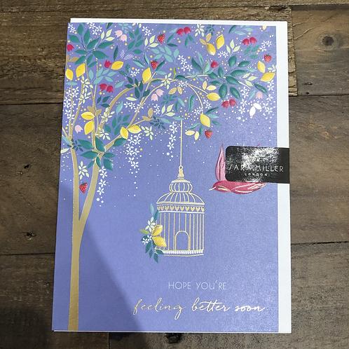 Hope You're feeling better soon, Tree Card