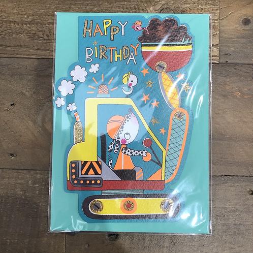 Happy Birthday, Digger. Card