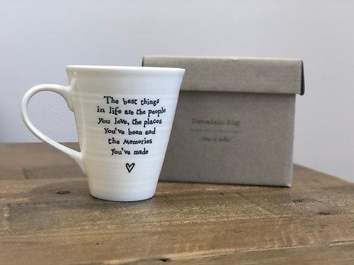 People, Places & Memories - Porcelain Mug