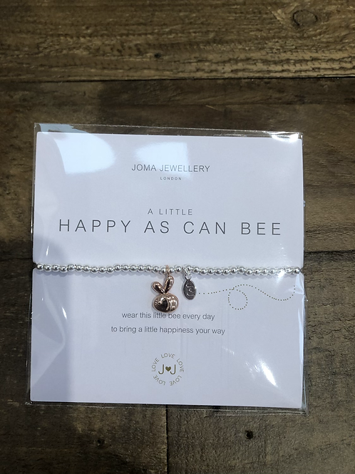 a little, Happy as can Bee