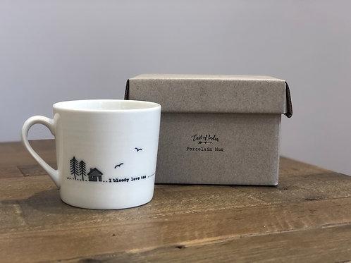 I bloody love tea... - Porcelain Mug