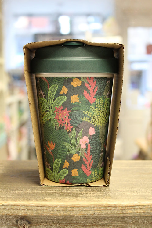 Jungle Look, Bamboo Travel Mug