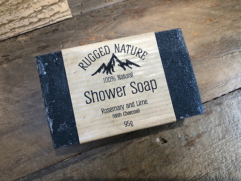 Shower Soap with Charcoal