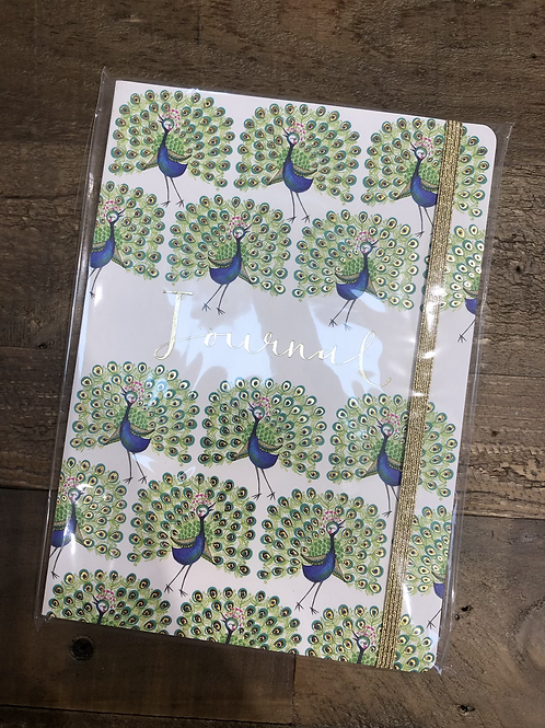 Peacock Journal, A5 Notepad