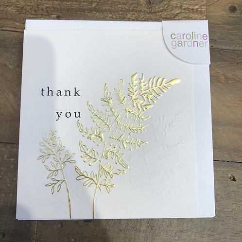 Thank you, Gold Fern. Card