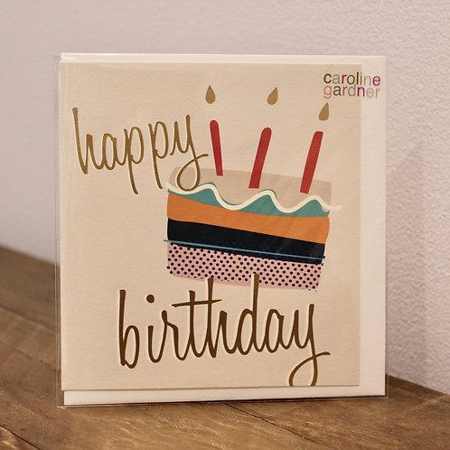 Happy Birthday, Cake... Birthday Card