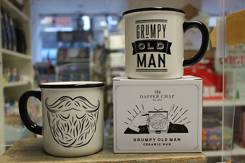 Grumpy old man, Large Mug