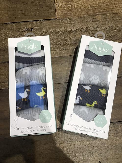 Stylish Greys, Sock Set