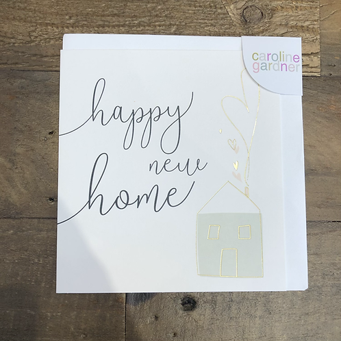 Happy new home, Card