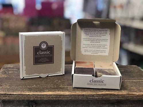 Classic Gift Set, 4 mini soaps