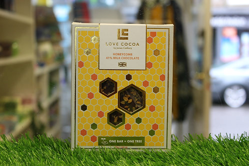 Honeycomb 41% Milk Chocolate Bar
