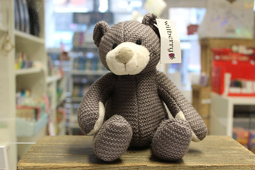 Knitted Grey Bear
