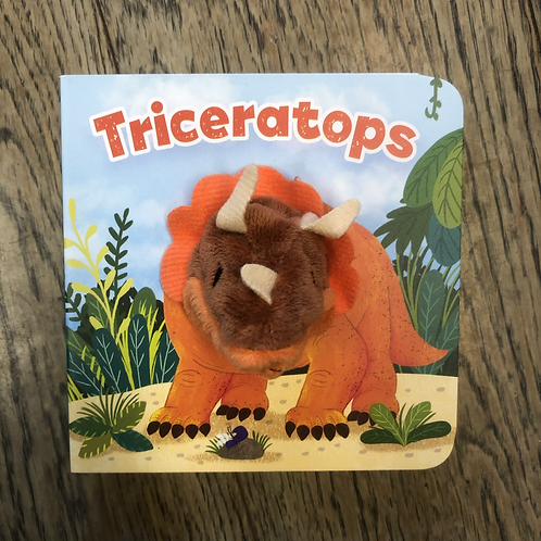Triceratops, Puppet Book
