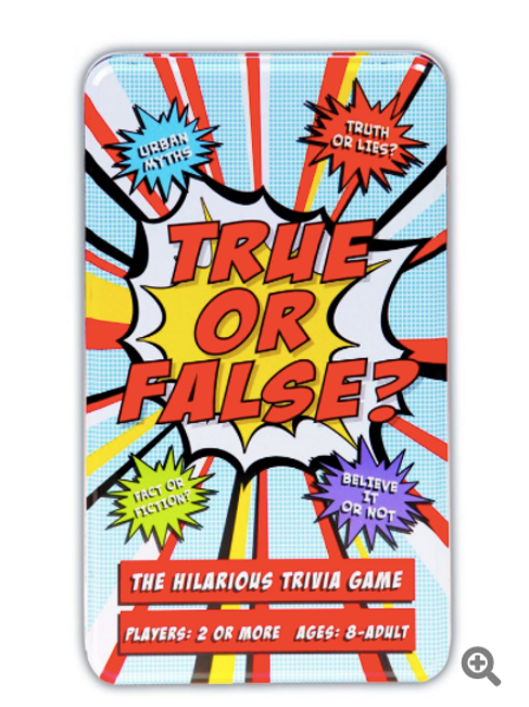 True or False, Trivia Game