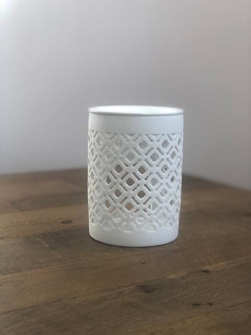 White Lattice Wax/Oil Burner