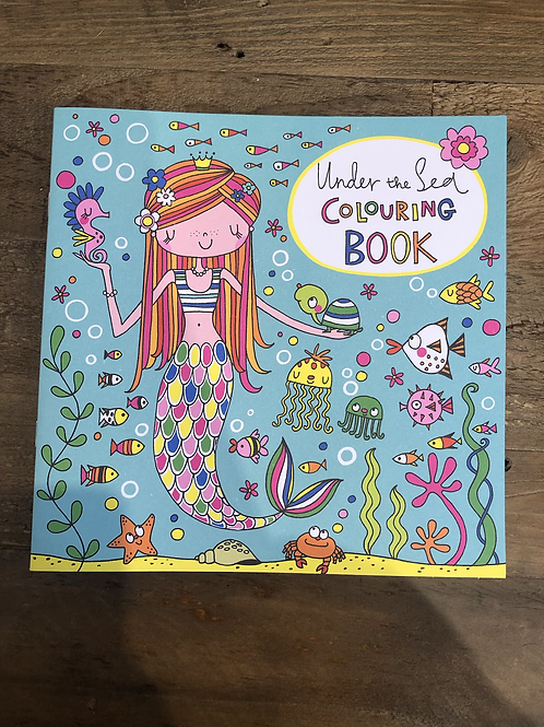 Under the Sea, Colouring Book