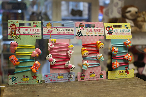 Hair Bobbles, 4 Designs