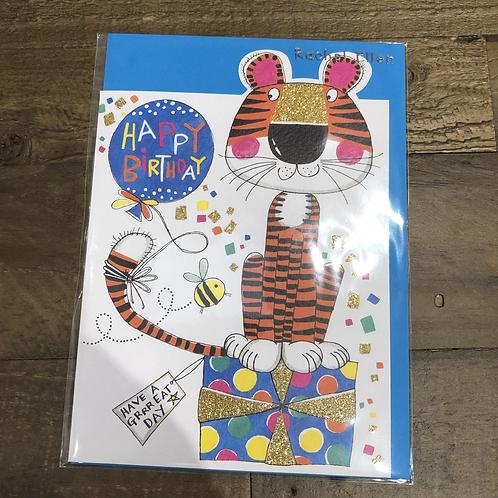 Happy Birthday, Tiger Card