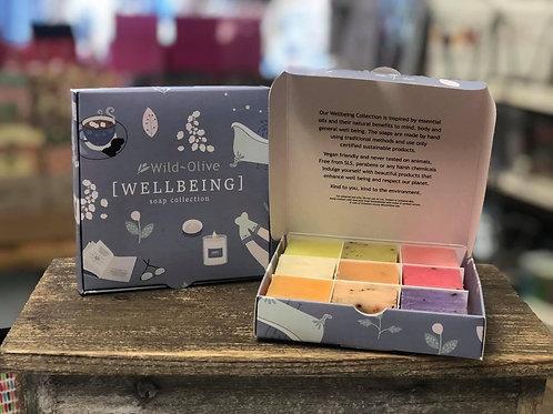 Wellbeing Gift Set, 9 mini soaps