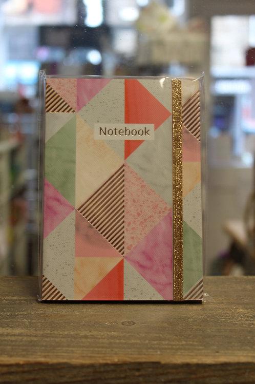 Geometric Notebook - A6 Notepad