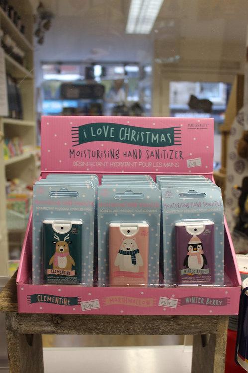 Hand Sanitisers - I love Christmas