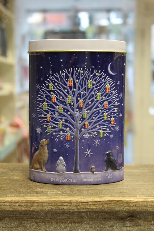 Clotted Cream Fudge, Christmas Tin