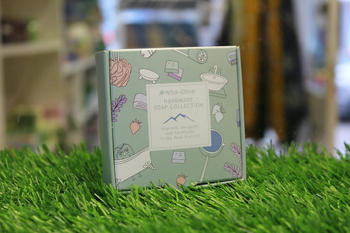 Made in the Peak District, Gift set - 4 Soaps