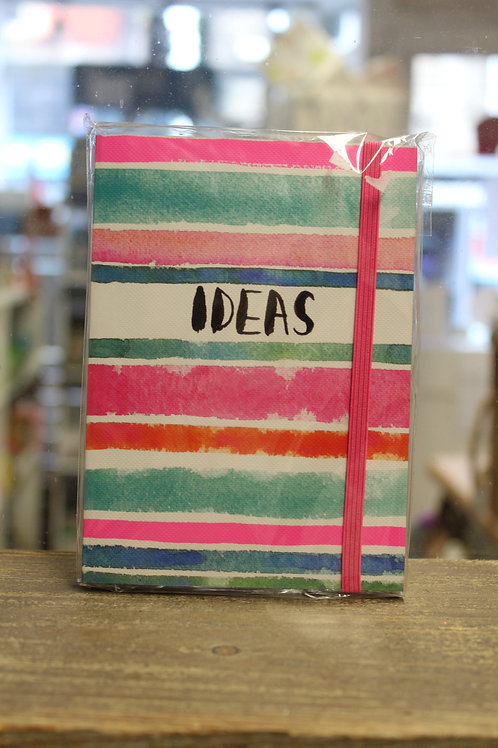 Striped Ideas - A6 Notepad