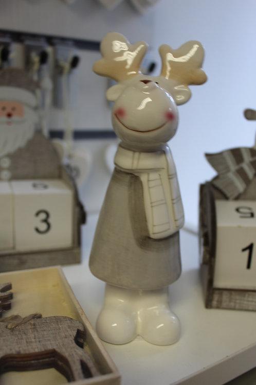 Jolly Reindeer Ornament
