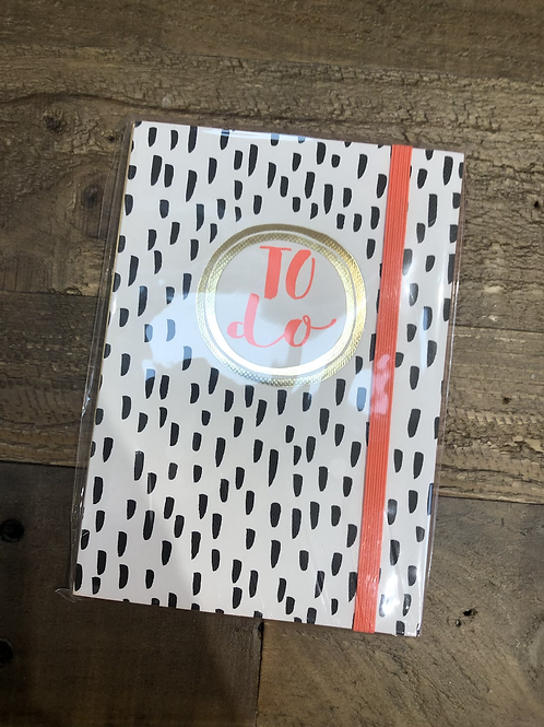 To Do, A6 Notepad