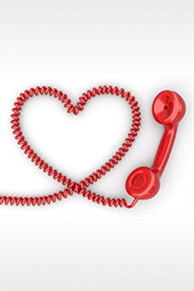 קו חם לזוגיות: פגישת ייעוץ פרונטאלית / טלפונית