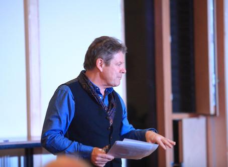 John's an Award Winning Playwright