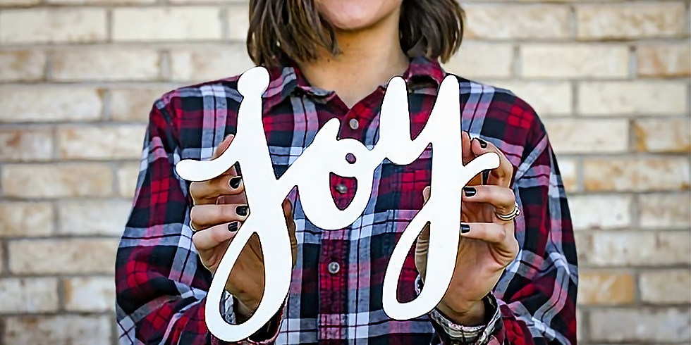 Finding your Joy - £15