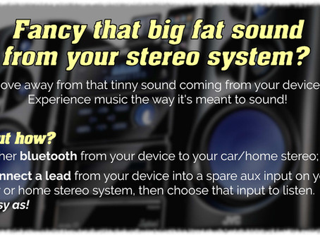 Ditch the tinny sound from your phone...