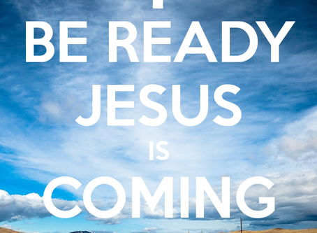 Jesus is returning - are we prepared?