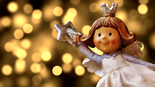 cute angel with star-1912661.png