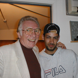 With Alan Ford