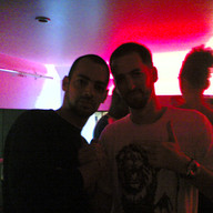 With Jon B Partying