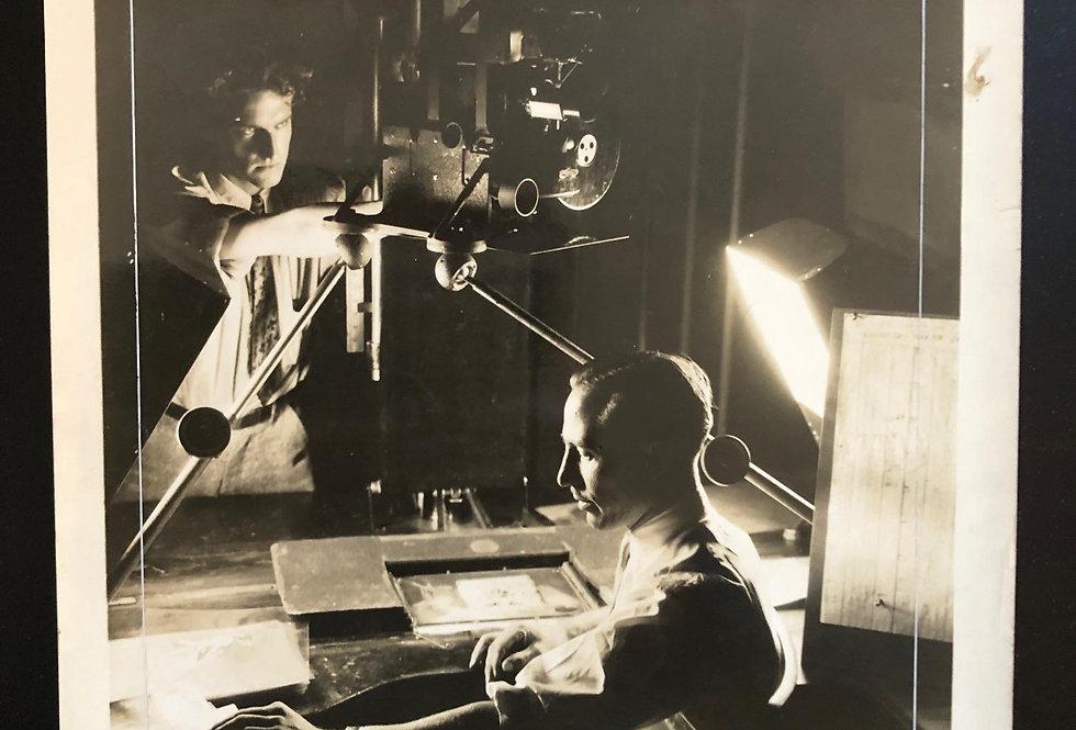 Walt Disney Camera Man At Work