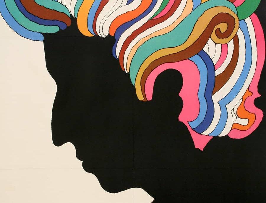 Bob Dylan Record Poster