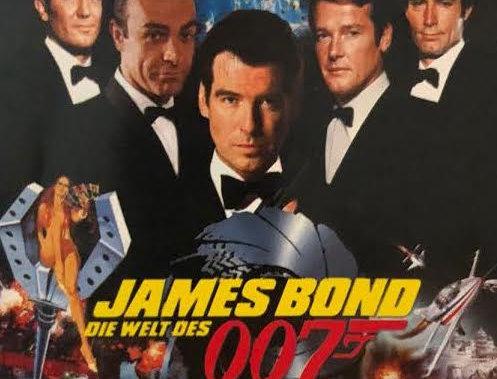 James Bond Exhibition Flyer