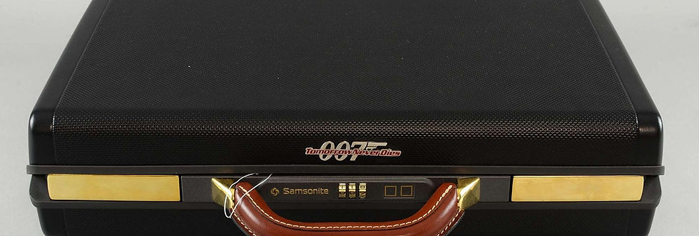 Tomorrow never dies samsonite collectable suitcase