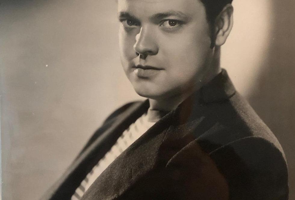 Orson Welles Portrait ( Tomorro Is Forever )