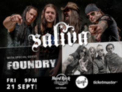 Saliva & Foundry