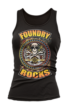Foundry Rocks Tank Top Black