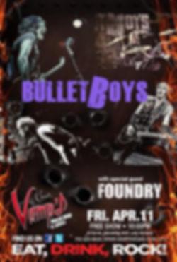 Bullet Boys & Foundry