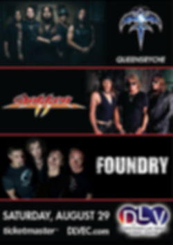Queensryche, Dokken & Foundry
